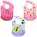 3pcs Baby Bibs Waterproof Boy Girl Bandana Bibs Bebe Cotton Toddler Bids Baby Food Bib Newborn