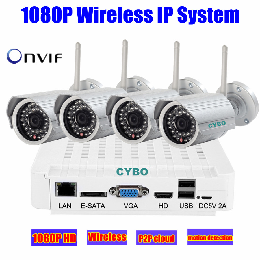 Wifi Home Security Camera System 1080p