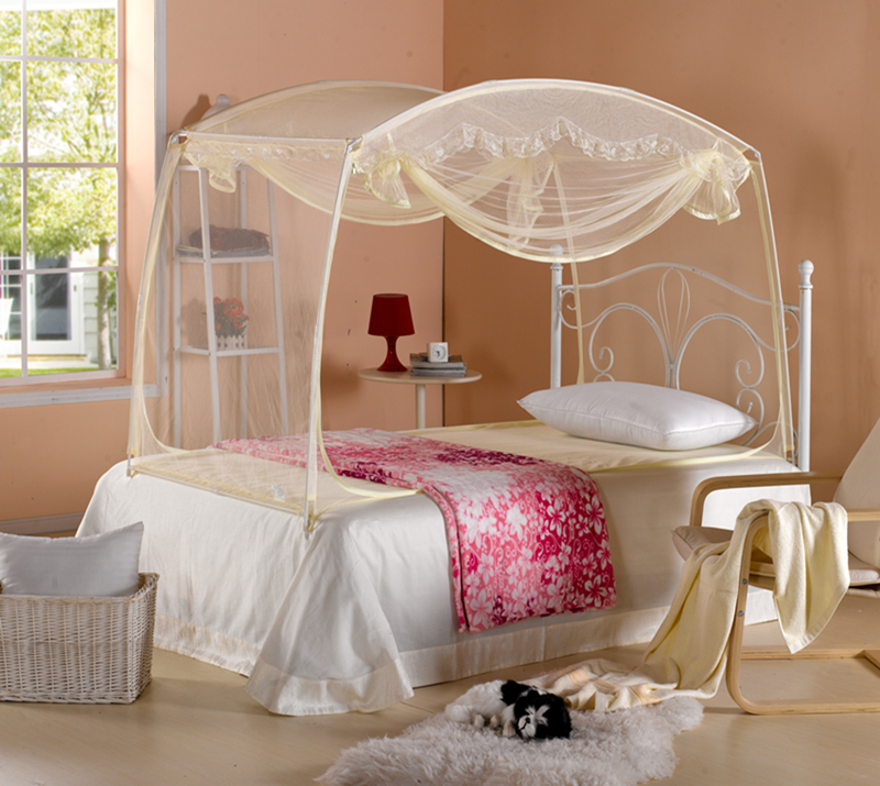 Mosquitos estudiante literas neta cama individual mosquito - Mosquitera para cama ...