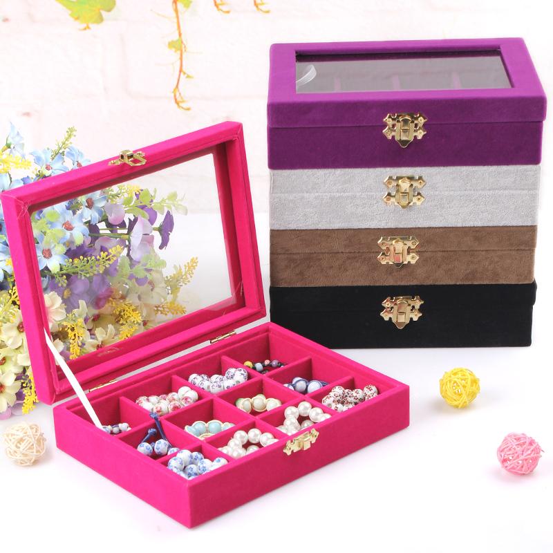 2PCS/LOT 2014 Fashion Jewelry Accessories Box jewelry box jewelry storage box princess European Cosmetic/casket Wholesale<br><br>Aliexpress