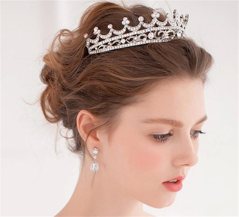 Wedding Hairstyle With Crown : Gallery for gt wedding crown hair