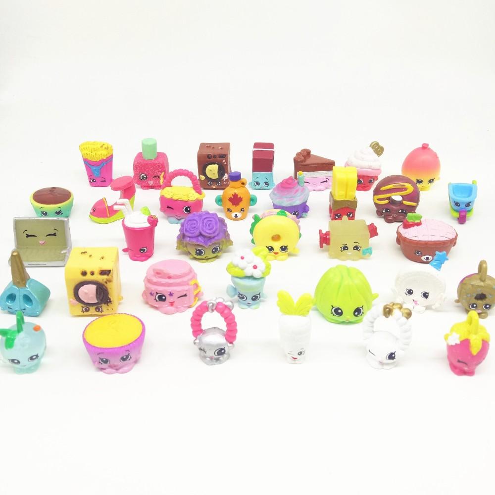 20pcs/set shops Season 1 2 3 4 5 Fruit merchant family shopping mixed toy doll play house toys play toys