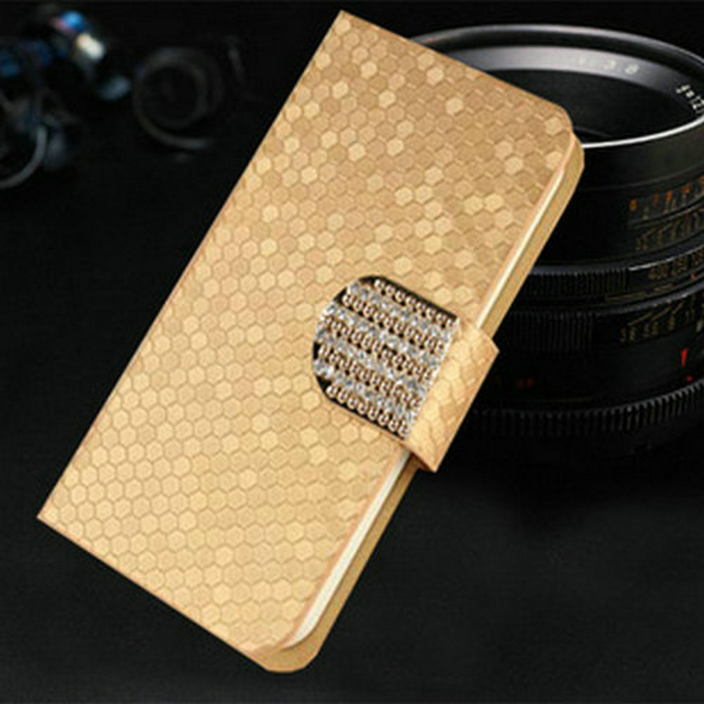 For BlackBerry Leap font b Case b font Newest Diamond Pu Leather font b Phone b