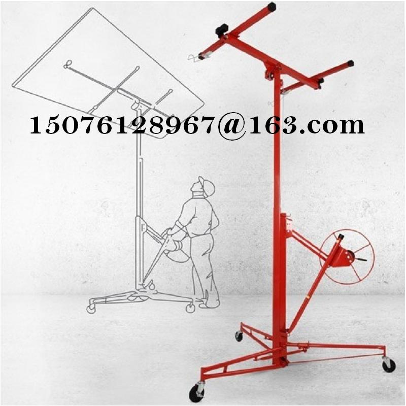 Drywall and panel hoist up platform lifting machine woodworking tools lift plasterboard ceiling(China (Mainland))