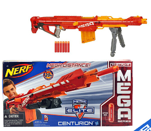 Large size nerf n-strike elite mega centurion longshot Blaster nerf Sniper rifle submachine  soft bullet gun toy