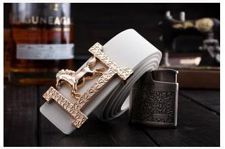 2015 brand designer h High quality PU leather belt for men fashion mens belts luxury belts