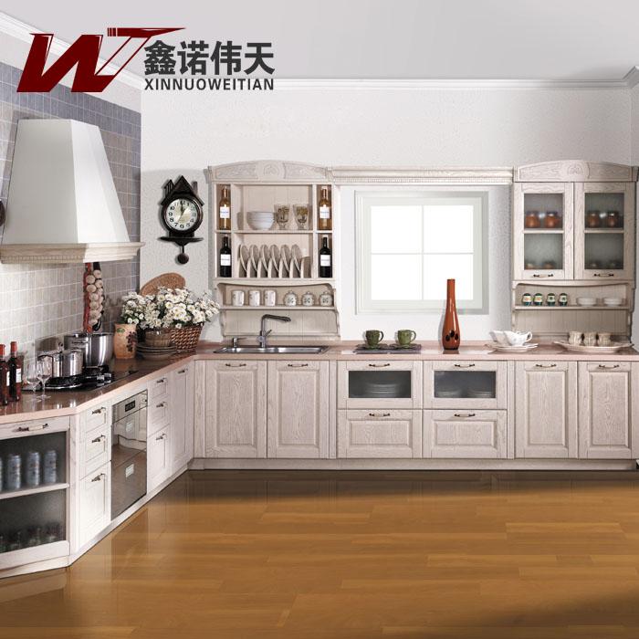 American Rustic Kitchen Cabinet Customize American Red Oak