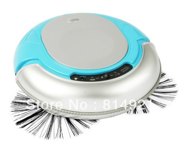 3 In 1 Multifunctional Mini Robot vacuum cleaner(, Auto Sterilizing,Air Flavoring) ,strong vacuum,new design,Blue color(China (Mainland))