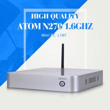 XCY 2015 MINI PC N270 2G RAM 1000G HDD+WIFI Window 8.1/8/7/XP WIFI Mini pc for office Mini Desktop Computer thin Client(China (Mainland))