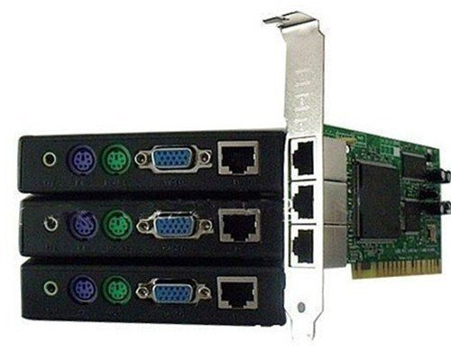 Popular model,Ncomputing thin client X300 with Max 7 Users