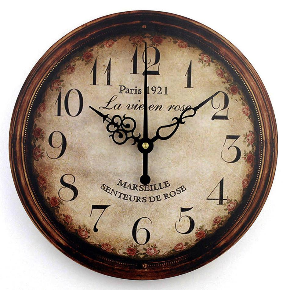 Horloge murale design moderne promotion achetez des for Grande horloge murale moderne