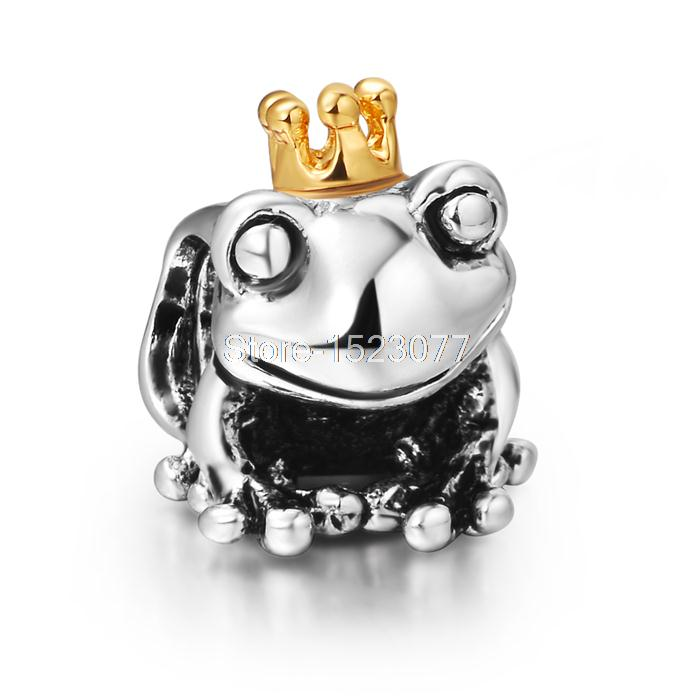 Frog Best Fashion Unique Style Enamel 925 Silver European Bead Charm High quality Antique DIY Jewelry For Snake Bracelet Chain(China (Mainland))