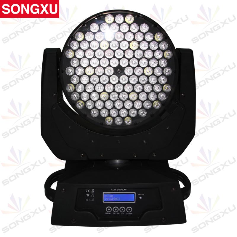 SONGXU 108X3W RGBW LED Wash Moving Head Light LED Stage Lighting Moving Head /SX-MH10803(China (Mainland))