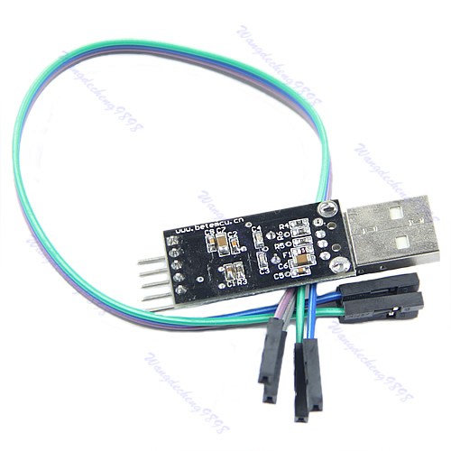 J34 Free Shipping USB To RS232 TTL PL2303HX Auto Converter Module Converter Adapter 5V 3.3V Output(China (Mainland))