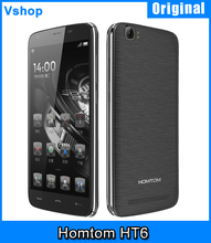 6250mAh Battery Homtom HT6 Cellphone Android 5.1 16GB ROM 2GB RAM 5.5 inch 4G LTE Phones Support 13MP Camera OTG Smart Gestures