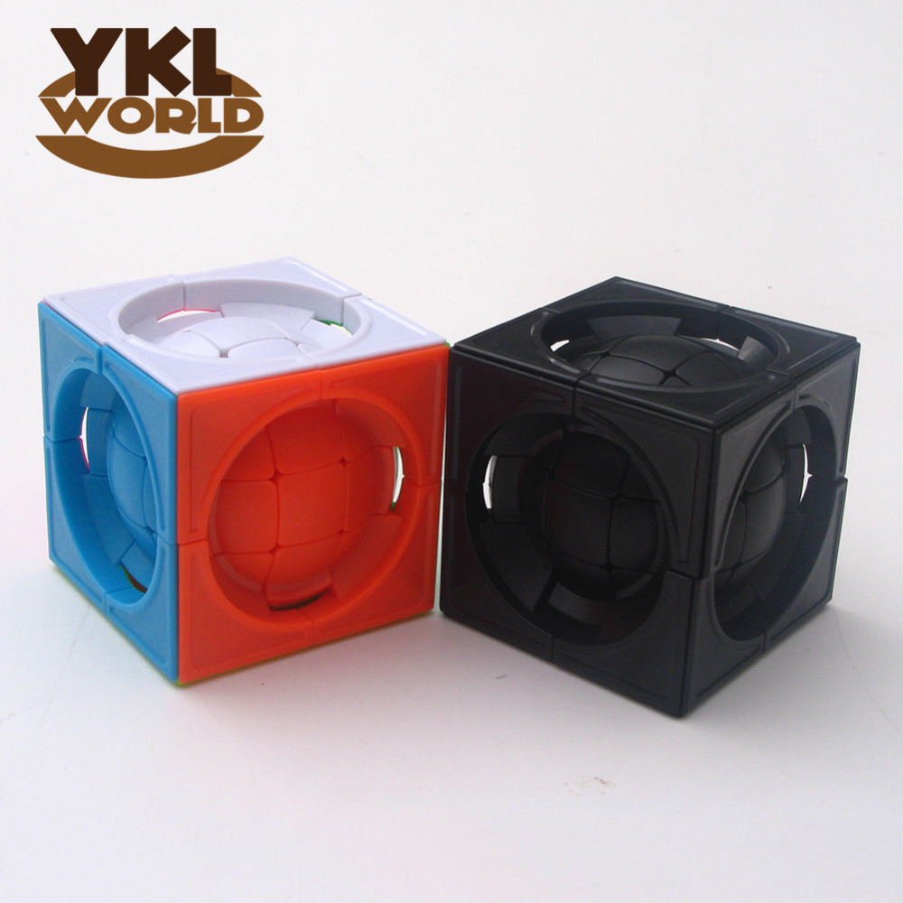 YKLWorld Newest Strange-Shape Magic Cube Ball Smooth Puzzle Game Speed Cubo Magico Ball in Cube Kid Toy Gift -48(China (Mainland))