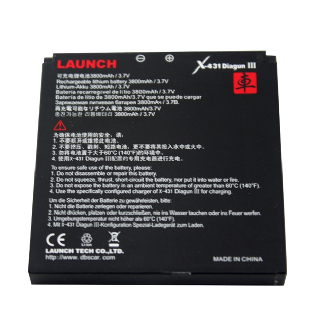 Top rated Professional 100% Original Launch x431 diagun iii 3 battery Fast Free Shipping 3 Years Warranty(China (Mainland))