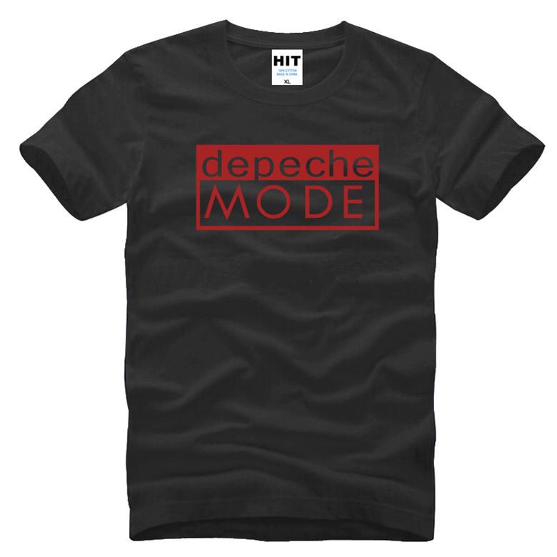 Free Shipping Alternative Dance Men T Shirts Distinct Depeche Mode T Shirt Short Sleeve O Neck Man Tops(China (Mainland))