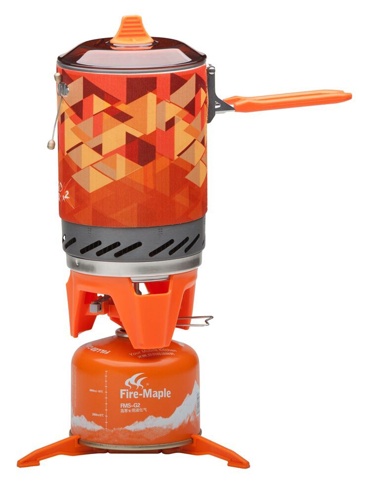 Fire Maple compact One Piece Camping Stove Heat Exchanger Pot camping equipment set Flash Personal
