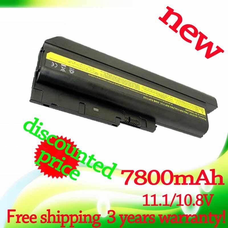 42T4513 laptop Battery 7800mAh for Lenovo for IBM ThinkPad R60 R60e T60 T60p R500 T500 W500(China (Mainland))