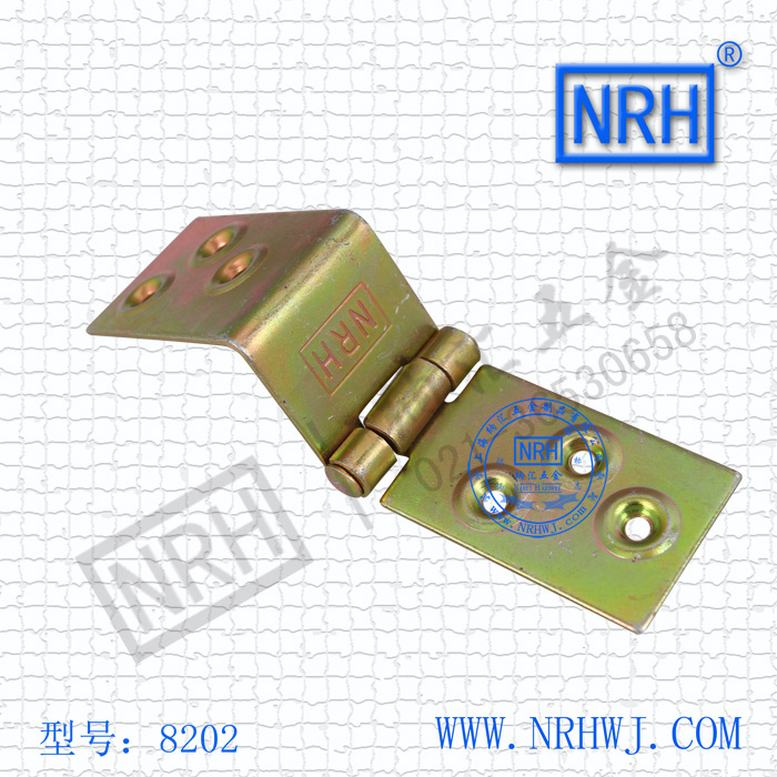 NRH8202color zinc plating Strap Hinge GB cold rolled steel Strap Hinge wooden case Strap Hinge High quality factory direct sales(China (Mainland))