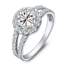 Bague Femme Anillos Mujer Wedding Rings Woman Special Offers High Quality Jewelery Ring for Lovers Engagement Rings Ulove J510(China (Mainland))