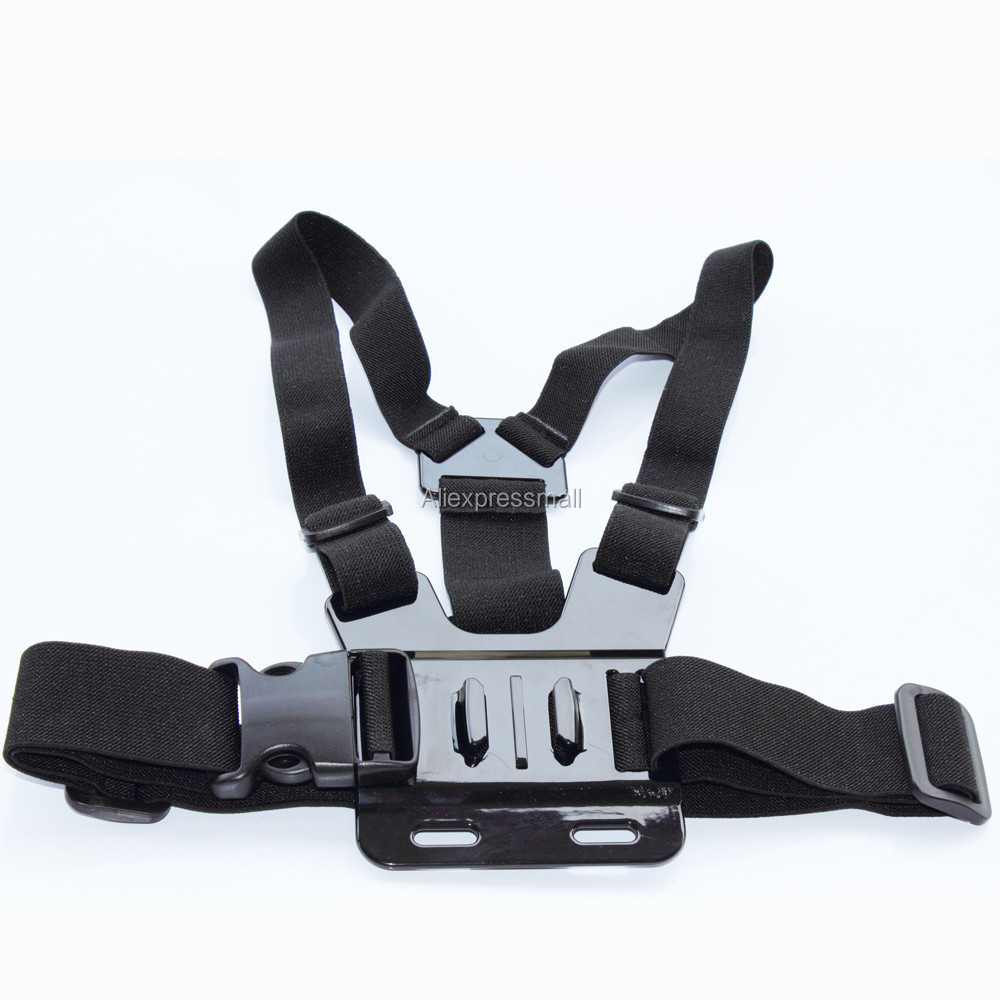 GoPro Accessories Chest Mount Harness Chesty Strap for HD Go Pro hero 1 2 3 4 Black Edition Xiaomi Yi SJCAM SJ4000 Accessories