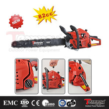 TM8200 2-Stroke professional gasoline Chinese chainsaw 82cc