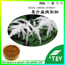 GMP Factory Supplier Natural Triterpene Glycosides Black Cohosh Extract(China (Mainland))
