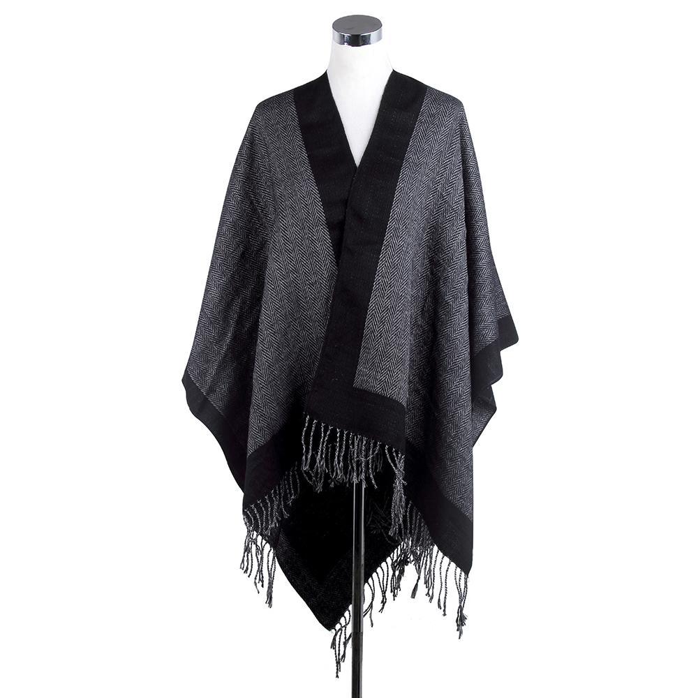 Brand Women Blanket Poncho Scarf Prorsum Cashmere Wool Scarf Cape Winter bufanda manta font b Tartan