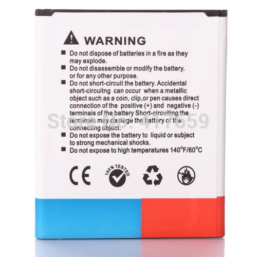 1 PC High Quality 2300mAh mobile Phone Li ion Battery for Samsung Galaxy S3 Mini GT