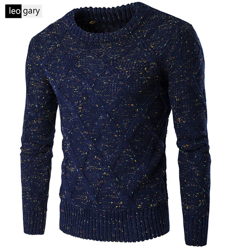 High Quality Standard Solid Pullovers Fashion O-Neck Mens Sweaters Auturm & Winter Cashmere Men Formal Knitted Sweater(China (Mainland))
