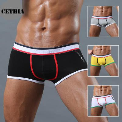 2017F58LBC3 clothes Brand top sale boxer new underwear men sexy shorts men gay