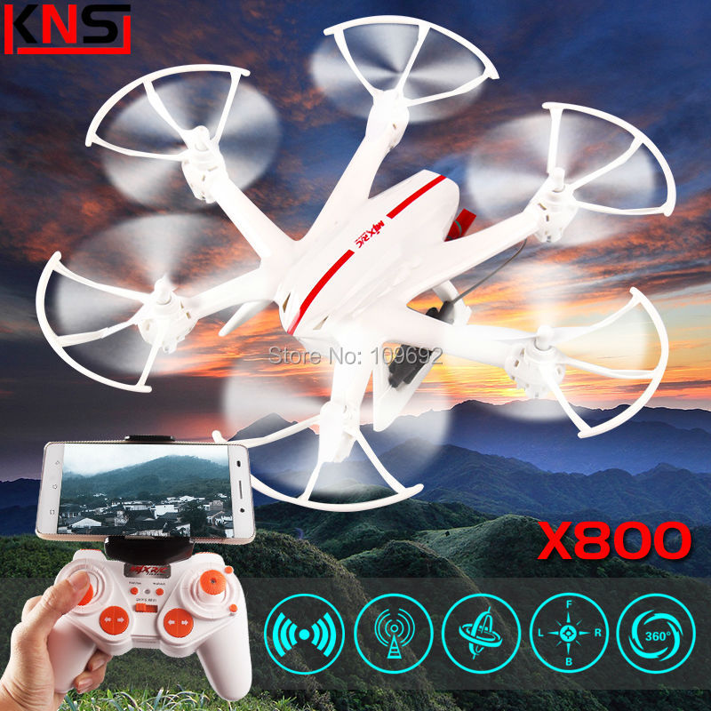 Gravity sensor Original MJX X800 Drone HD Camera Quadcopter WIFI FPV Video C4005 RC helicopter 6-Axis 2.4G 4CH VS X5SW X400 JJRC<br><br>Aliexpress