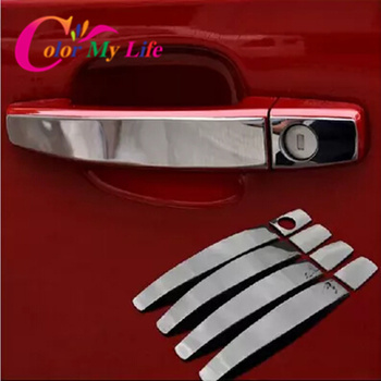 Hot Stainless steel trim Door Handle Cover For Opel Zafira Astra Insignia Vectra Vauxhall Mokka ASTRA J Cruze Malibu accessories