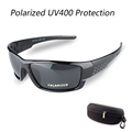 With Case Men Women Polarized Cycling Glasses Outdoor Sports Sunglasses Mountain Bike Bicycle Sun Glasses Windproof