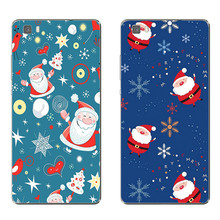 Huawei Honor 5C 7 7I Phone Case P8 P9 Lite Plus G9 Shell Mate 8 Transparent Cover Silicon Christmas Theme Pattern - WISAP-IColorCase Store store