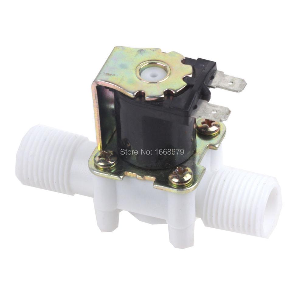 Электромагнитный клапан 24V DC 1/2 N/C электромагнитный клапан на воду в новосибирске