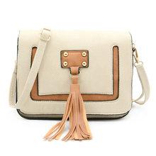 REPRCLA Nieuwe Leuke Kwastje Kleine Schoudertas Hoge Kwaliteit Flap Vrouwen Messenger Bags Modemerk Dames Crossbody Vrouwen Tassen(China)