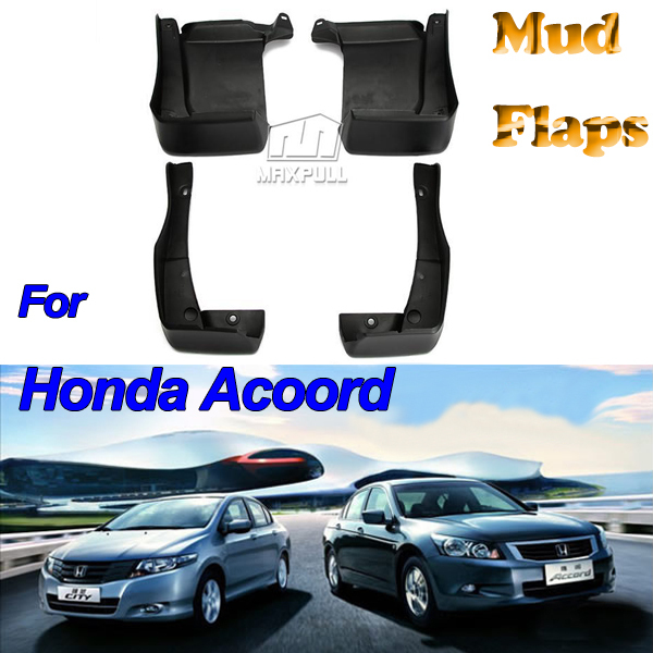 Mud Flaps Honda Accord 2013~2014 Front/Rear Splash Guards 4pcs/set