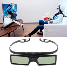 HOT SALE!HIGH QUALIT Bluetooth 3D Shutter Active Glasses for Samsung/for Panasonic for Sony 3DTVs Universal TV 3D Glasses Newest(China (Mainland))