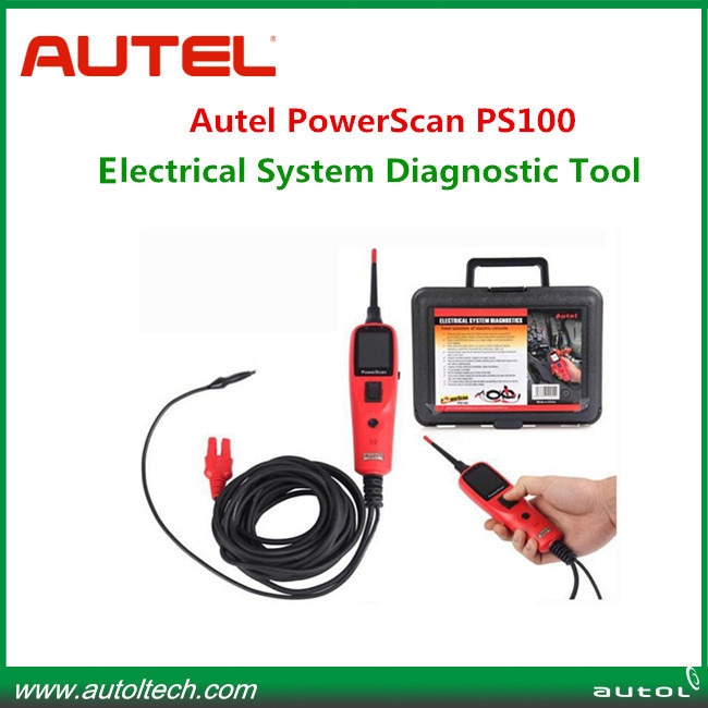 2015 Autel PS100 auto diagnostic tool high quality PS 100 PowerScan Electrical System Diagnostic Tool Circuit Tester(China (Mainland))