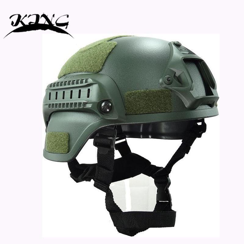King Tactical Helmet MICH2000 Action Version Helmet SWAT Airsoft Paintball Helmet