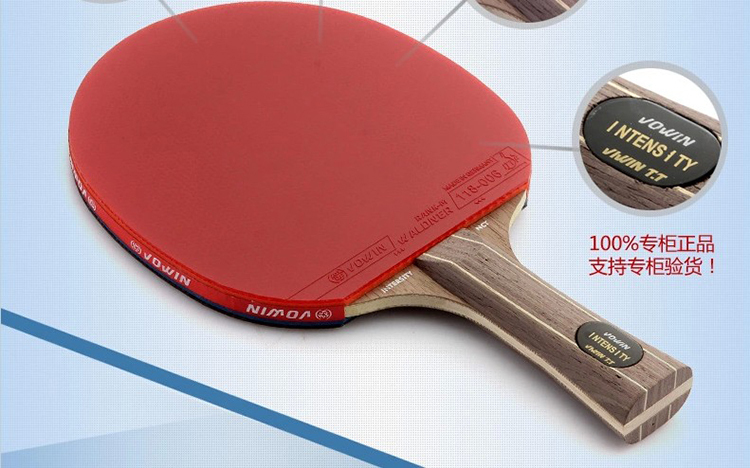 Table tennis ackets PADDLE Pimples pen-holding style handshake grip short long handle wooden holder pingpong rackets - Victor Yang store