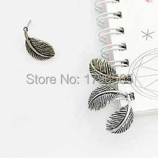 The new earrings fashion generous personality retro exquisite blade earrings earrings free shopping(China (Mainland))