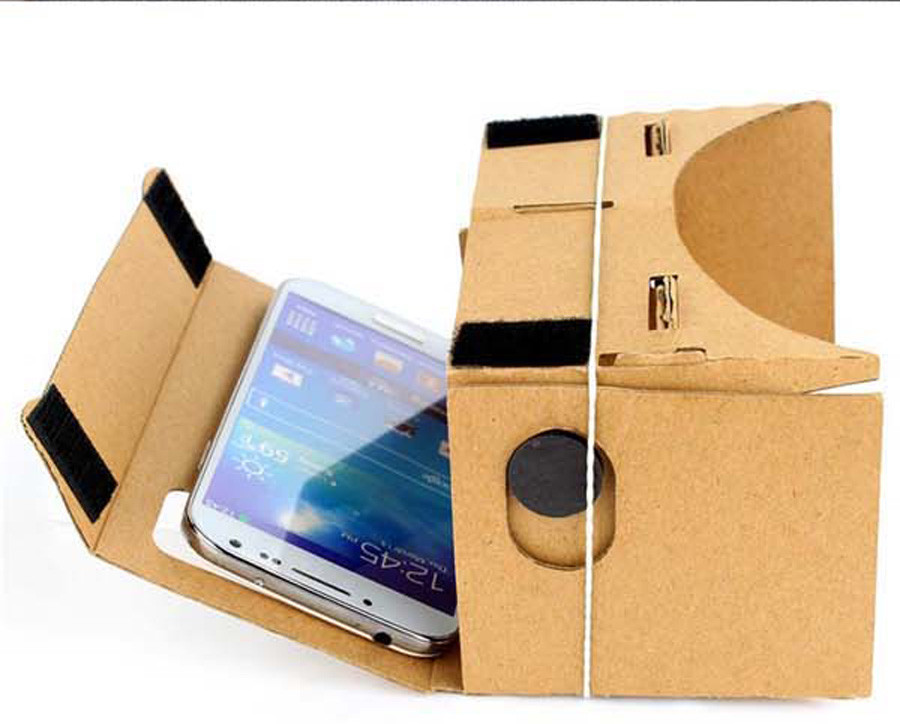 DIY Google Cardboard Virtual Reality VR Box 2.0 VR HeadsetMobile Phone 3D Viewing Glasses for 5.0″ Screen Google VR 3D Glasses