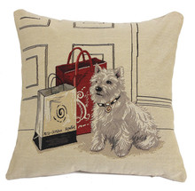 Linen Embroidered Cushion Cover Pillow Case Throw Pillow