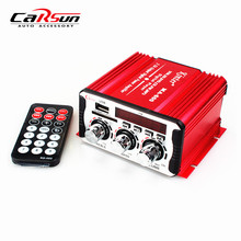20W+20W USB SD DVD CD FM MP3 Digital LED Display 12V Motorcycle Car Amplifier HiFi Stereo Kinter MA-600(China (Mainland))