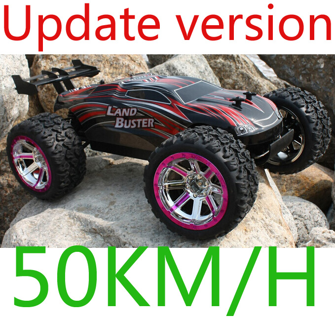 4WD 1/12 Scale High Speed 50km/H Monster Truck with 2.4GHz Radio Remote Control Charger Included Rc car(China (Mainland))