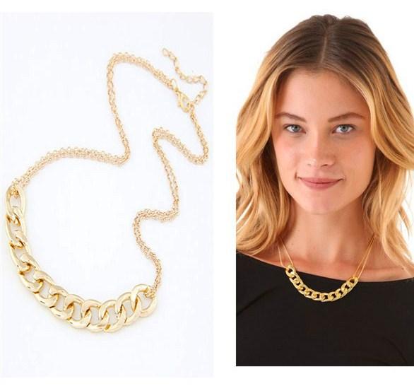 Fashion Gold Short Necklaces Chain for Women Punk Collier Colares Femininos Jewelry Bijoux 2015 Dress Accessories